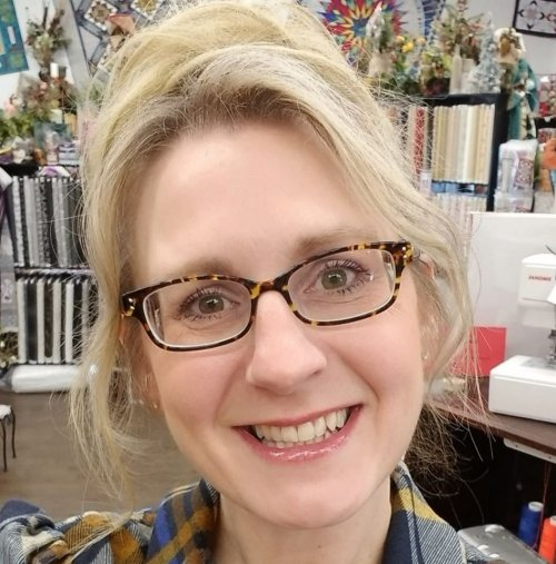 Angela Wirth, Owner, Mended Hearts Quilting
