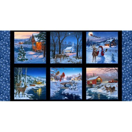 #61 Country Christmas Panel