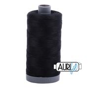 #2692 Black Aurifil Cotton Thread