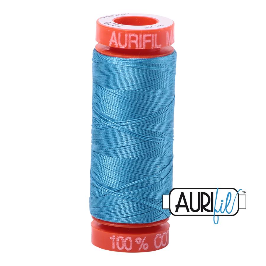 #1320 Bright Teal Aurifil Cotton Thread - copy