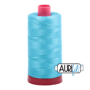 #5005 Bright Turquoise Aurifil Cotton Thread