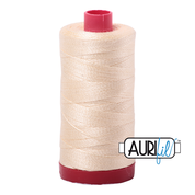 #2123 Butter Aurifil Cotton Thread