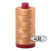#4150 Creme Brulee Variegated Aurifil Cotton Thread