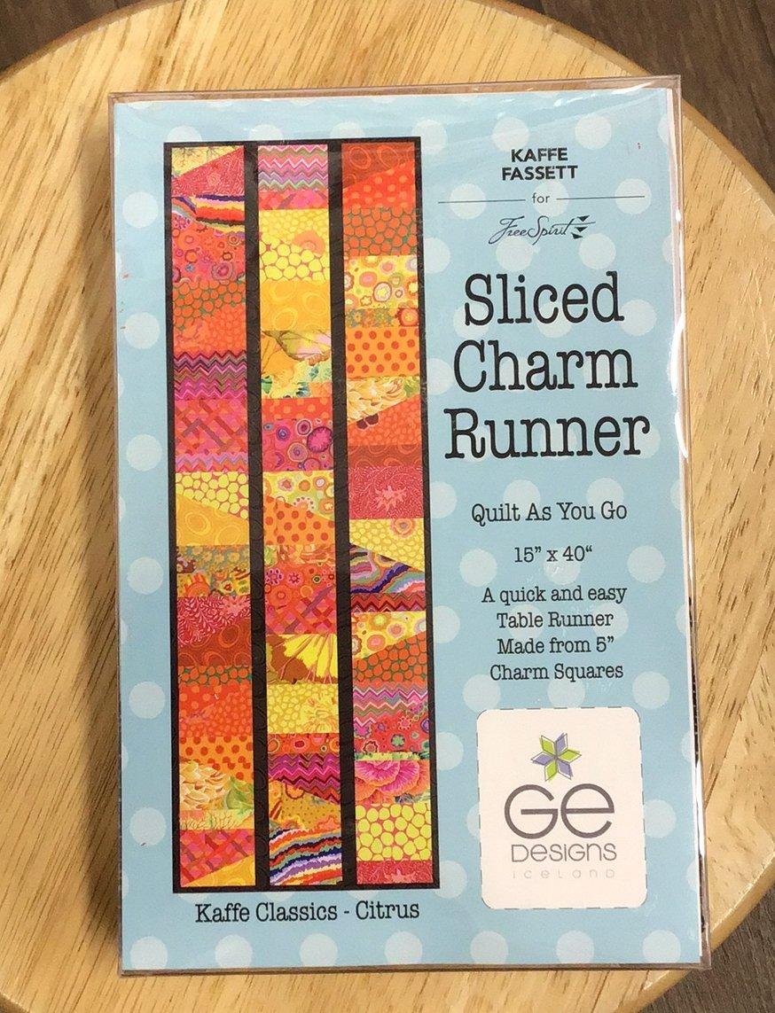 Kit #1008 Sliced Charm Runner