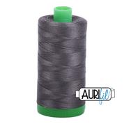 #2630 Dark Pewter Aurifil Cotton Thread