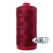 #2460 Dark Carmine Red Aurifil Cotton Thread