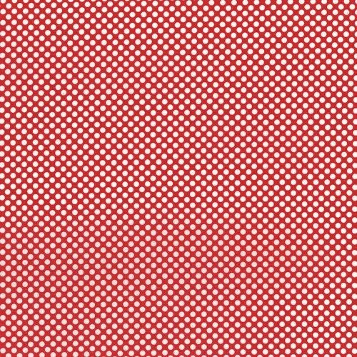 Dots and Stripes red