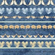 stof love birds stripe