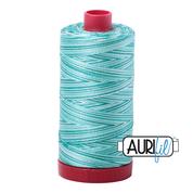 #4654 Turquoise Foam Variegated Aurifil Cotton Thread