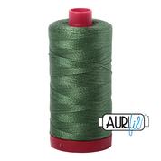 #2890 Very Dark Grass Green Aurifil Cotton Thread