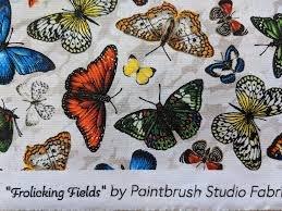 frolicking field butterflies