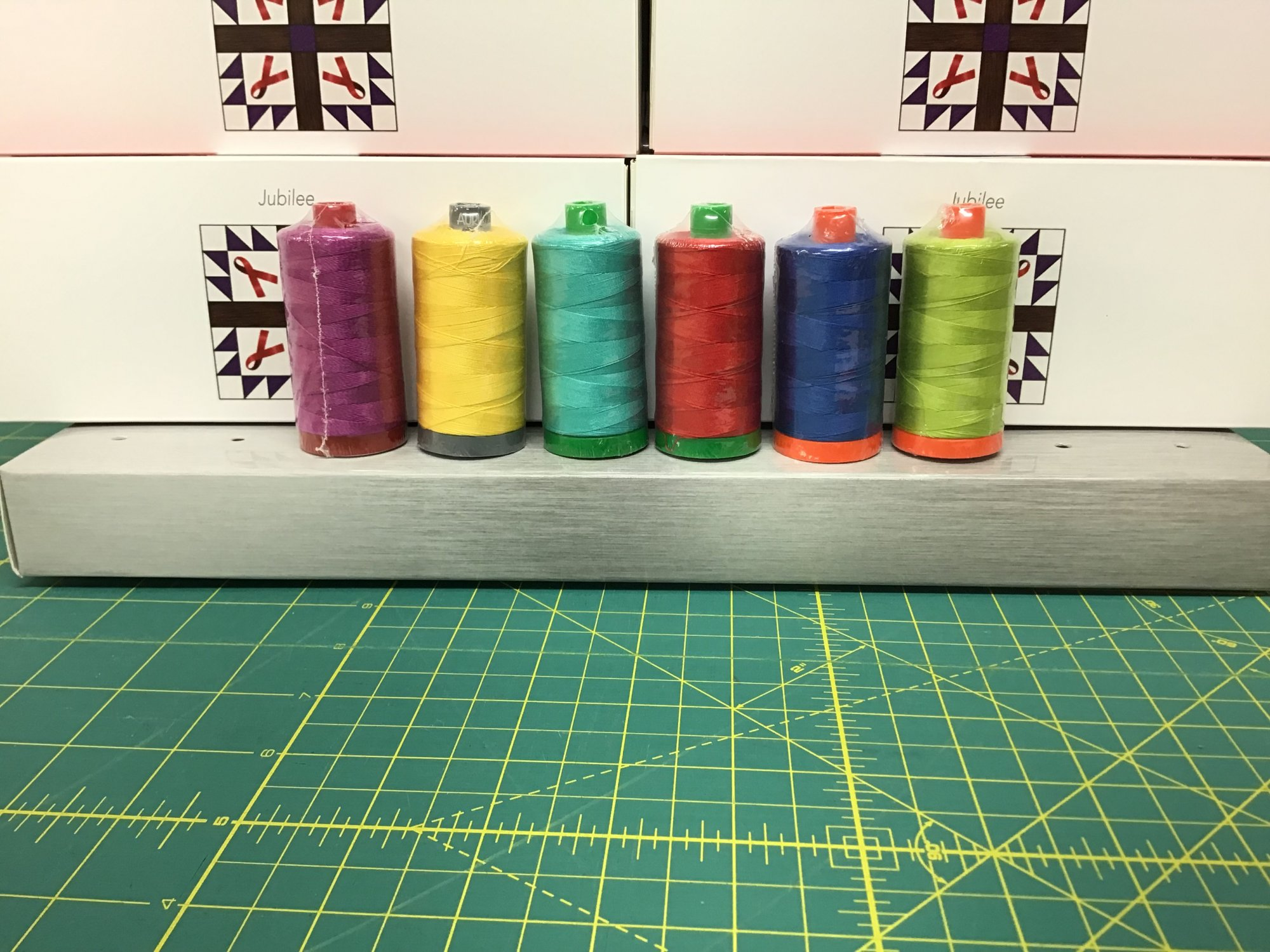 Jubilee - Aurifil Thread Box