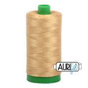 #2920 Light Brass Aurifil Cotton Thread