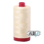 #2110 Light Lemon Aurifil Cotton Thread