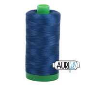 #2785 Very Dark Navy Aurifil Cotton Thread