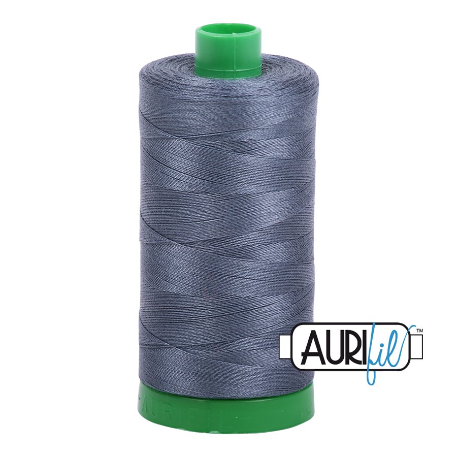 #1158 Medium Grey Aurifil Cotton Thread