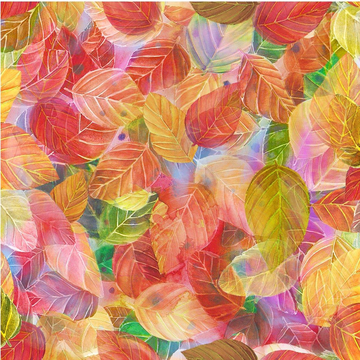 Mystic Leaves - Leaves Orange