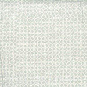 Hoffman Batik White with light Grey Oval Blender (N2841 521 Mist)