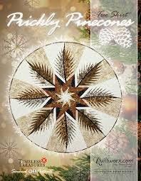 Prickly Pinecones Quiltworx