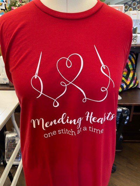Mended Hearts Lrg T-Shirt