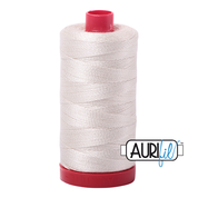 #2309 Silver White Aurifil Cotton Thread