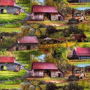 Barn Scenery