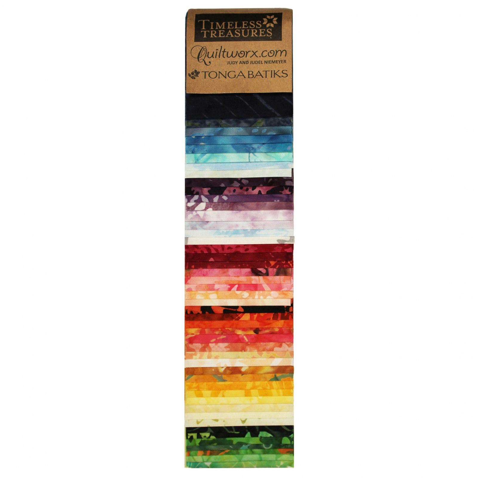Quiltworx Tonga 2 1/2 Strip Set - Prismatic