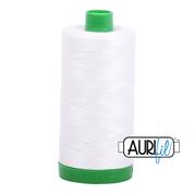 #2021 Natural White Aurifil Cotton Thread