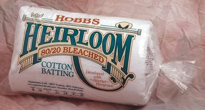 Heirloom 80/20 Bleached Cotton Batting 108