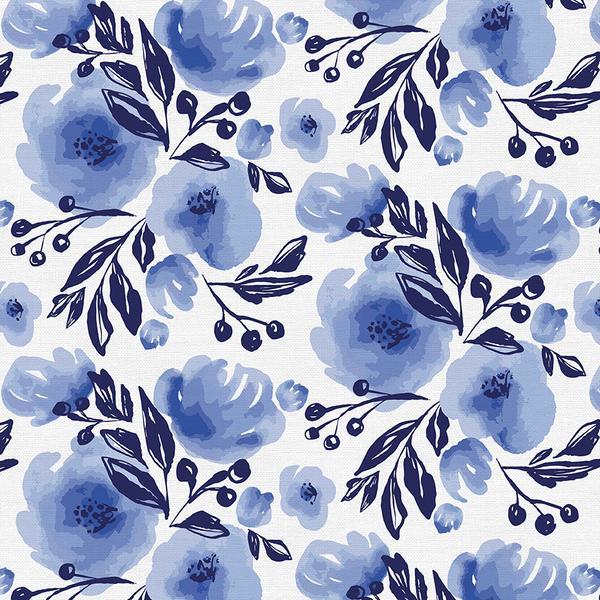 Lula Blue: Floral