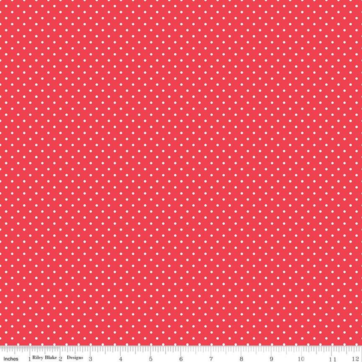 Swiss dot - cayenne