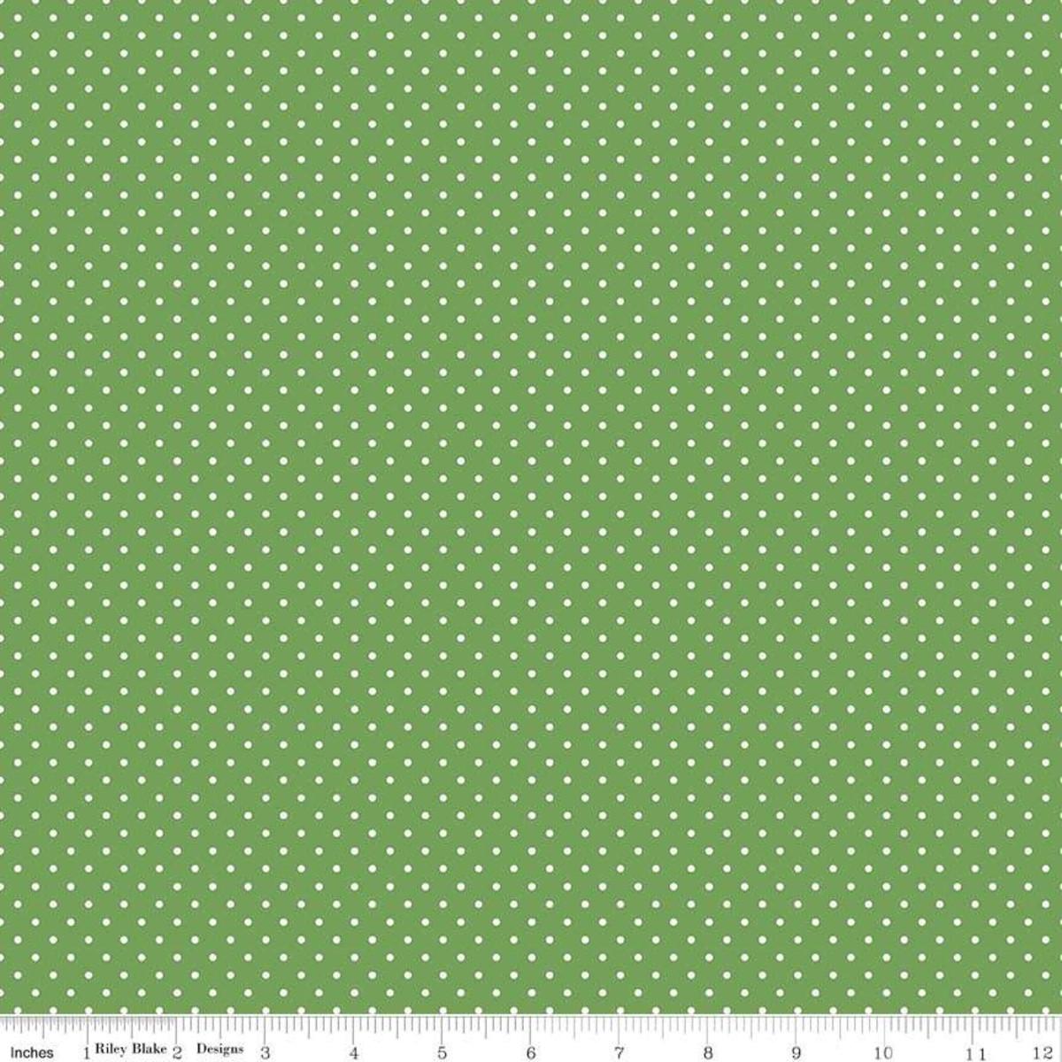 Swiss dot - clover