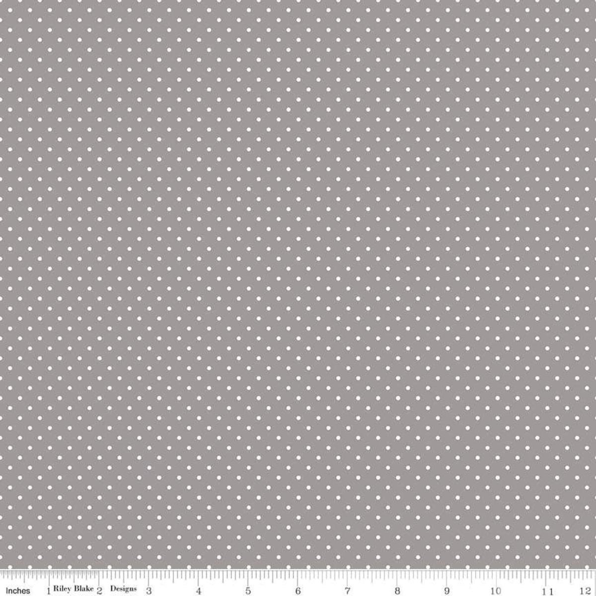Swiss Dot - Gray