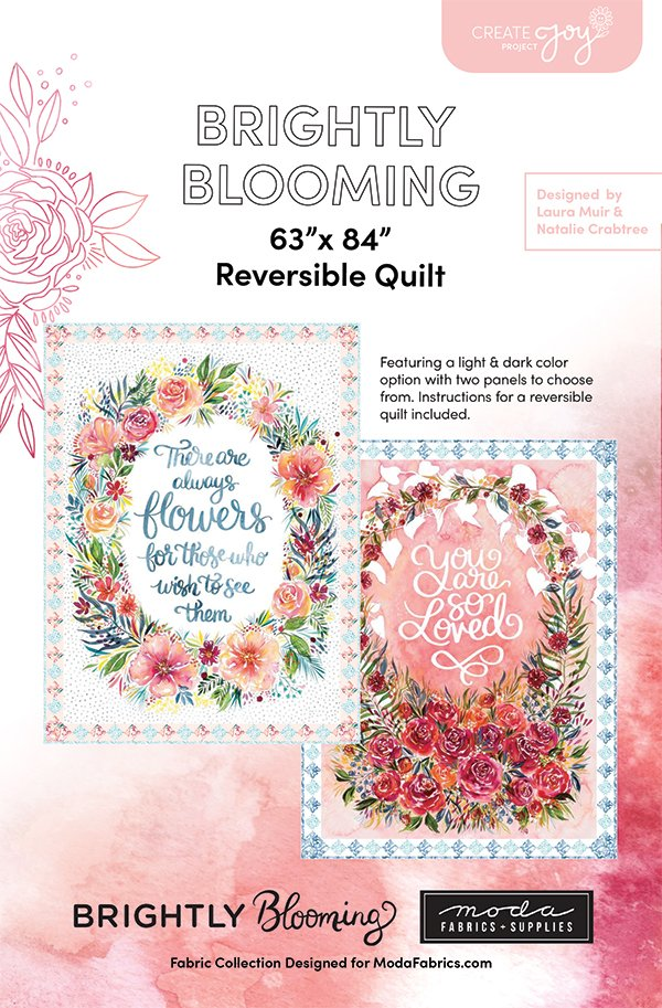 Brightly Blooming Reversiable