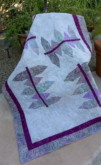 Batik Purple 53 x 60
