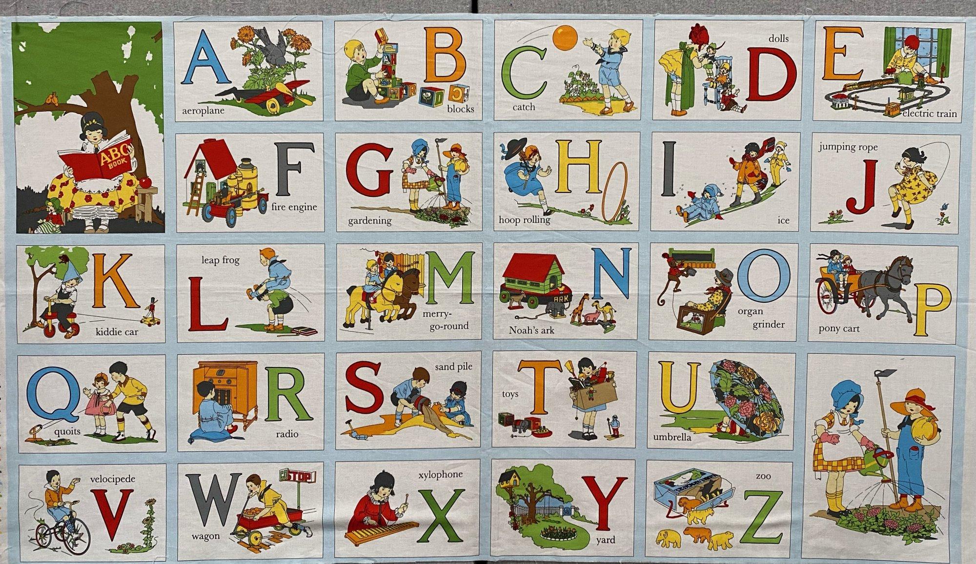 Panel 5 ABC Book