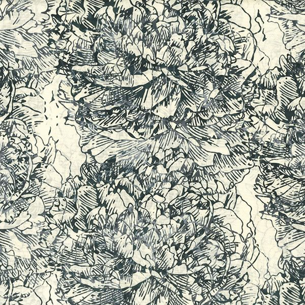 Hoffman Q2145 675 Graphite Batik