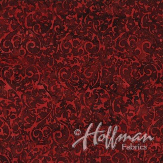 Hoffman Q2134 568 Red Velvet Batik