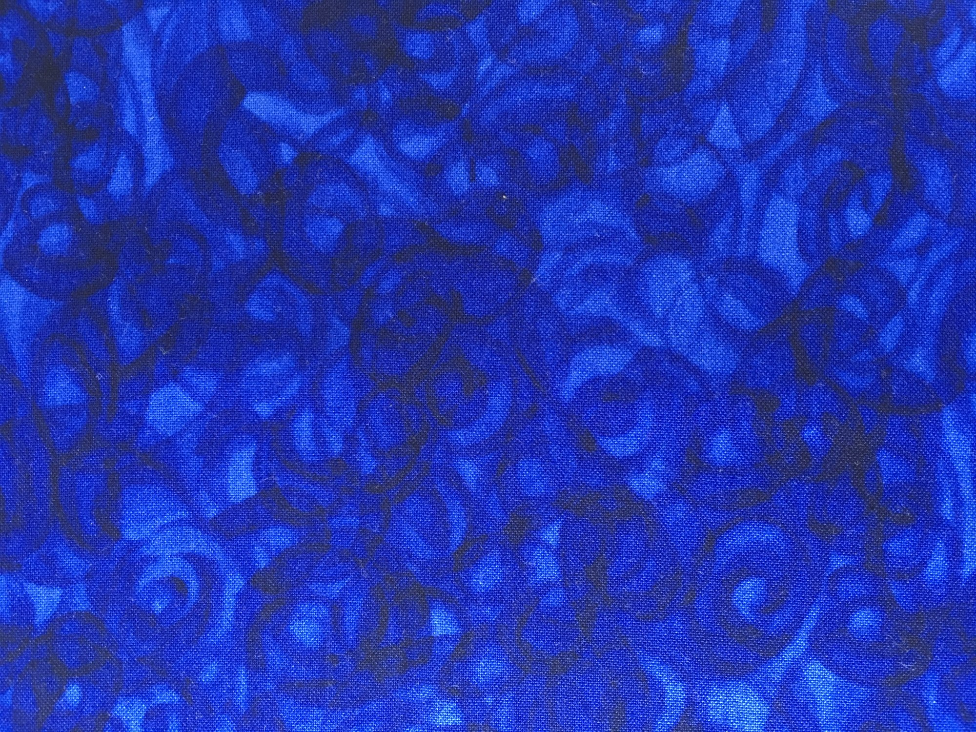 4368-NAVY  Fusion Illusion by Blank Quilting