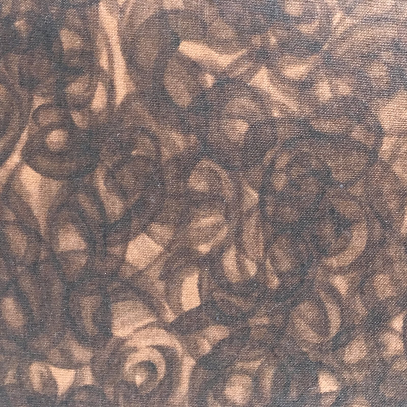 4368-CHOCOLATE  Fusion Illusion by Blank Quilting