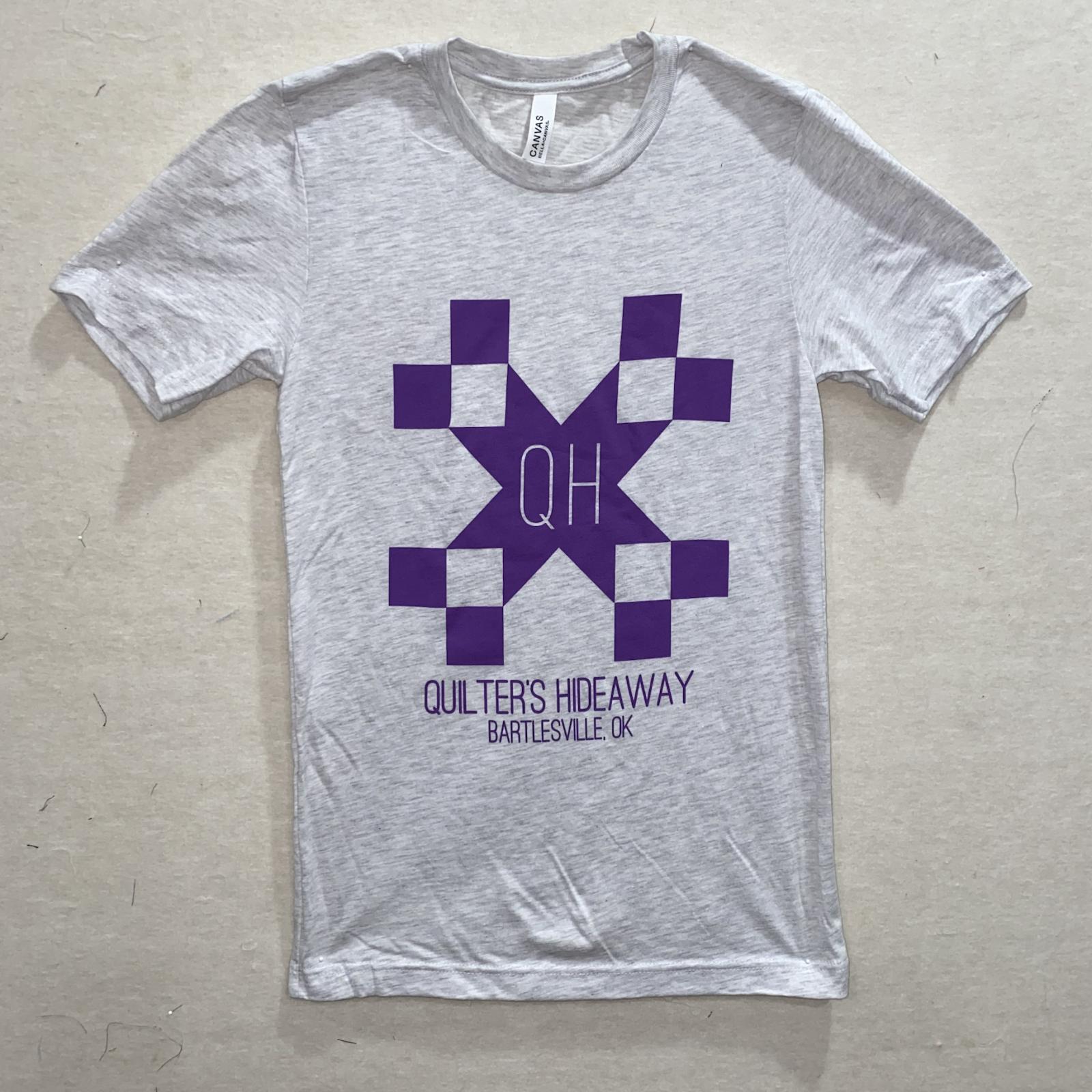 QH Ash Short Sleeve T Shirt - Large