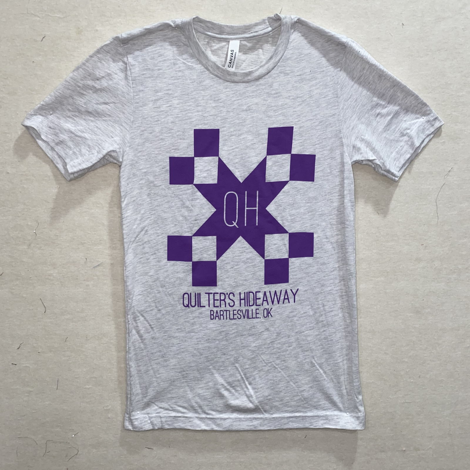 QH Ash Short Sleeve T Shirt - Small