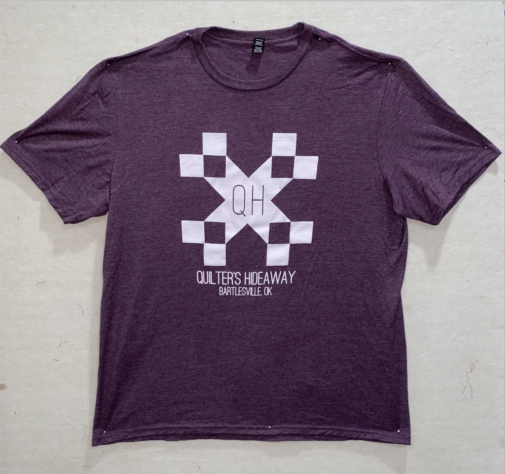 QH Purple Short Sleeve Shirt - Large