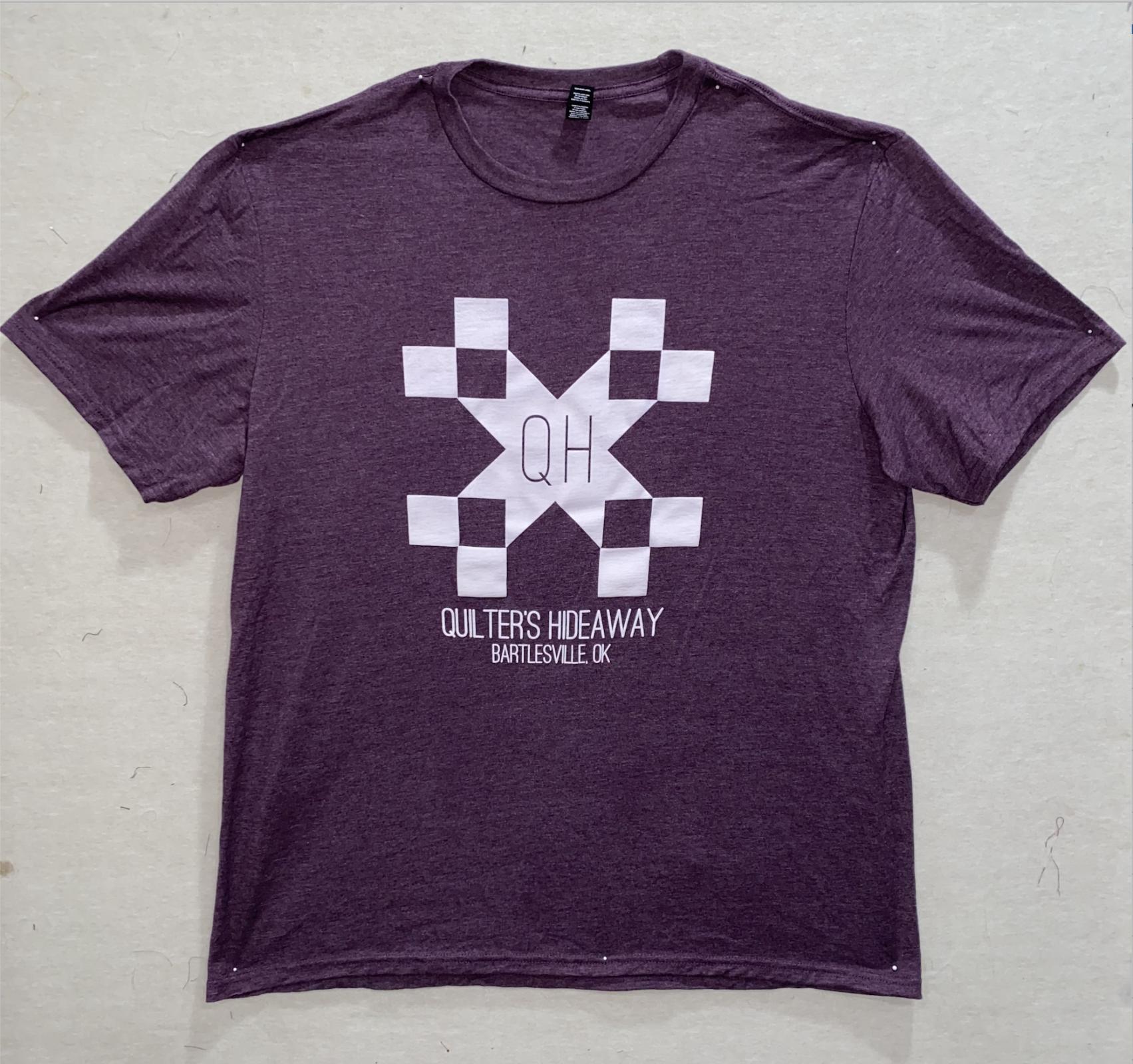 QH Purple Short Sleeve Shirt - Extra Small