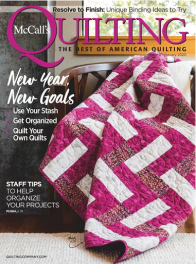 McCall's Quilting Magazine - Jan/Feb 2020