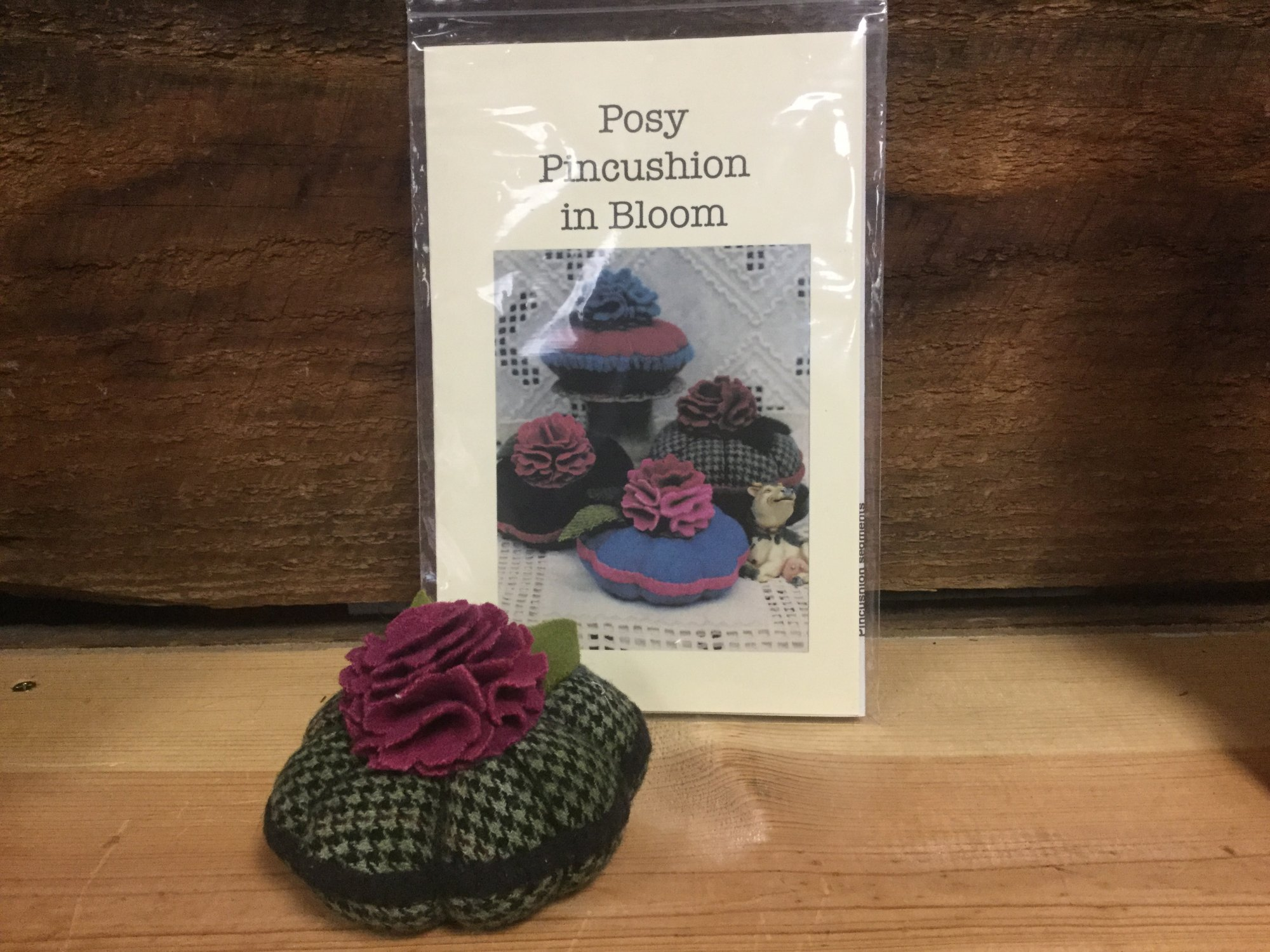 Posy Pincushion in Bloom