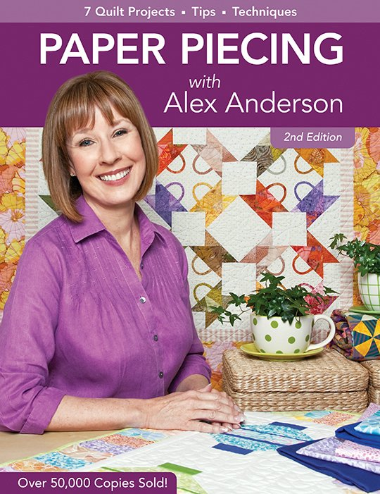Paper Piecing w/Alex Anderson Bk