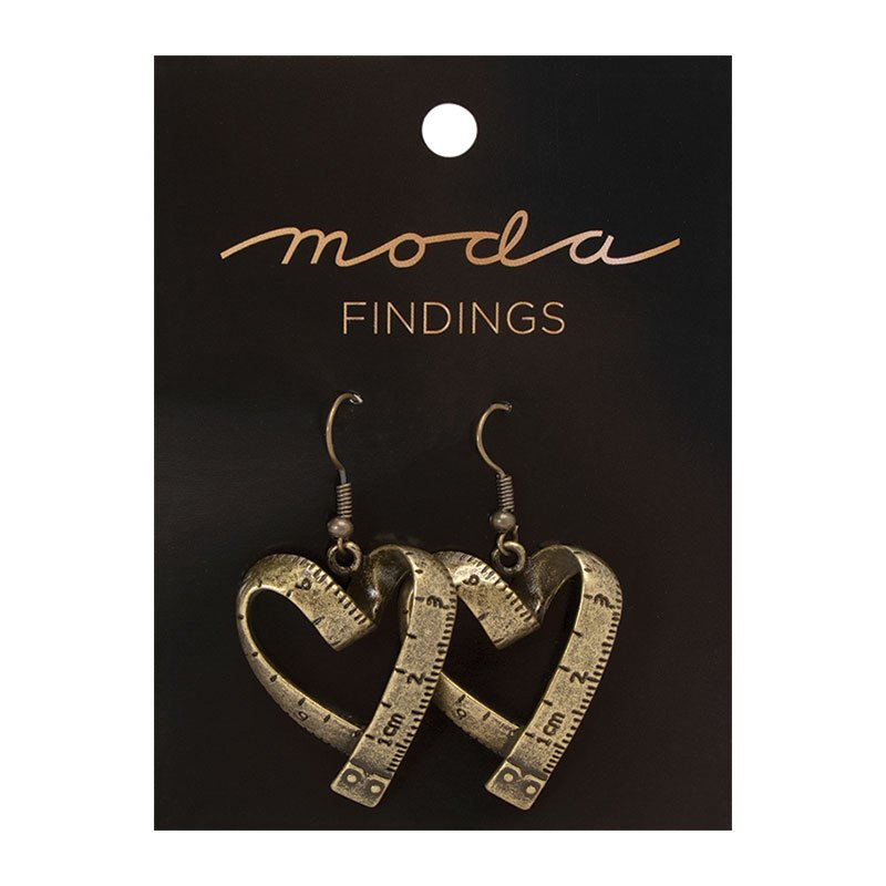 Earrings Vintage Heart