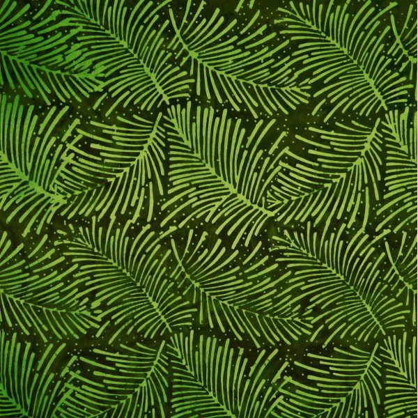 Batik-Herbiage-9560-Very Moss