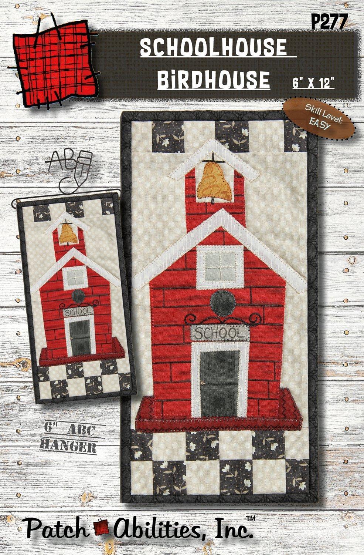 Schoolhouse Birdhouse Kit
